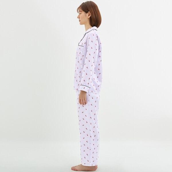 サテンパジャマ(長袖)(イチゴ)