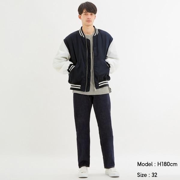 レギュラージーンズ(股下76cm)-NAVY