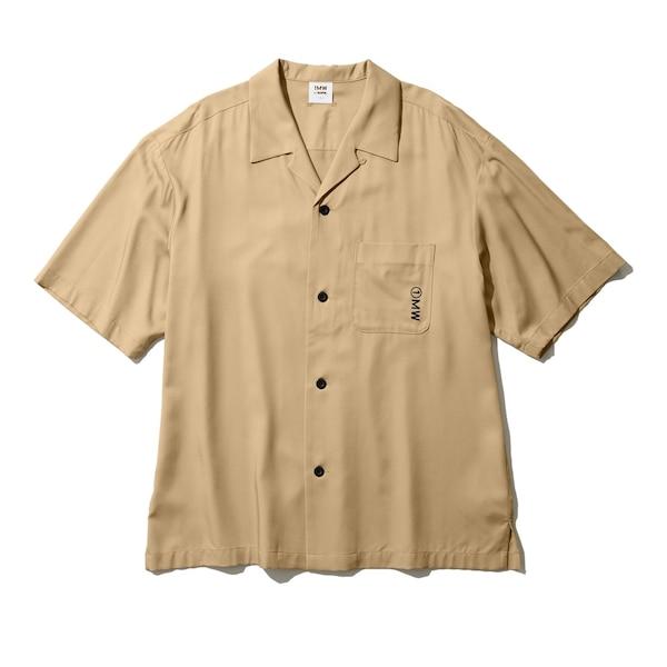 オープンカラーシャツ(5分袖)1MW by SOPH.-KHAKI