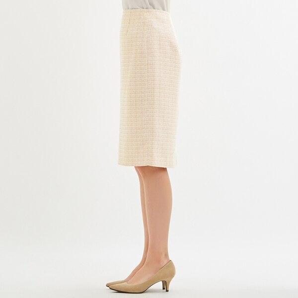 ツイードナロースカートZ+X