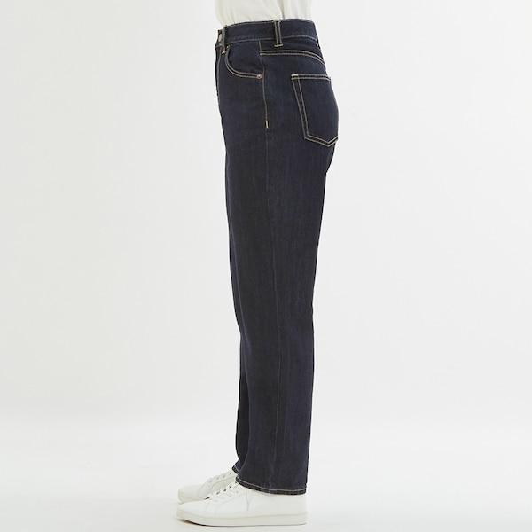 ハイウエストストレートジーンズ+EC(丈長め82cm)