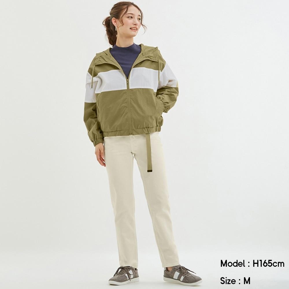 テーパードアンクルジーンズ+EC(丈長め72cm)