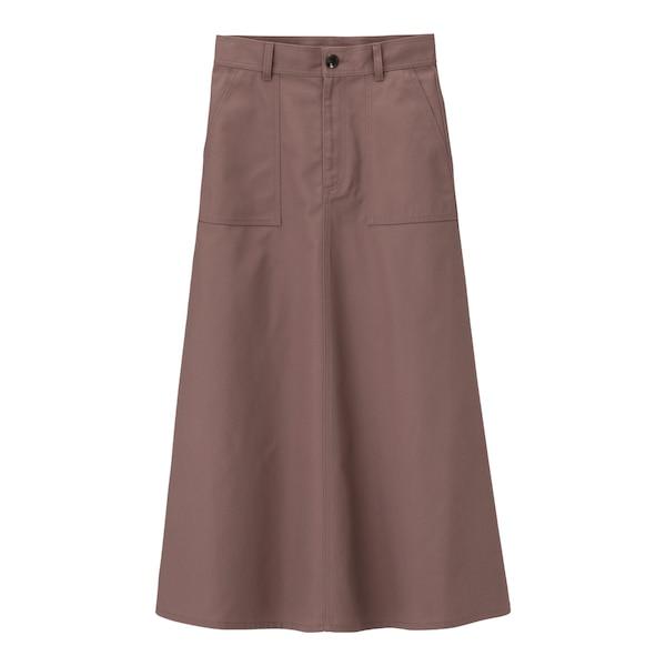 チノフレアマキシスカート+X