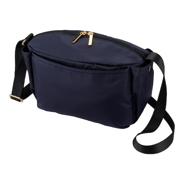 10ポケットミニショルダーバッグ-NAVY