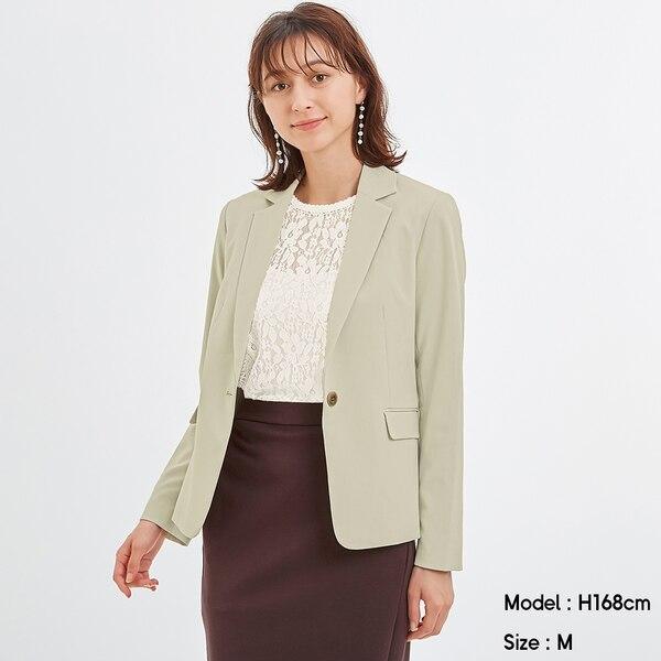 テーラードジャケットZ+E(セットアップ可能)-GREEN