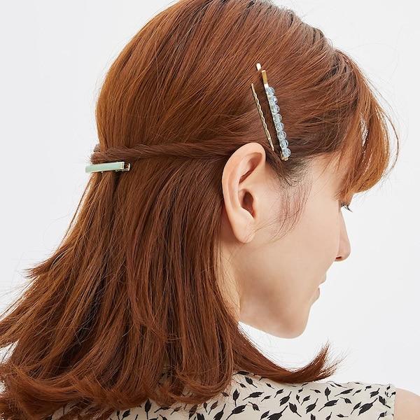 カラーヘアアクセサリーセット+E-LIGHT GREEN