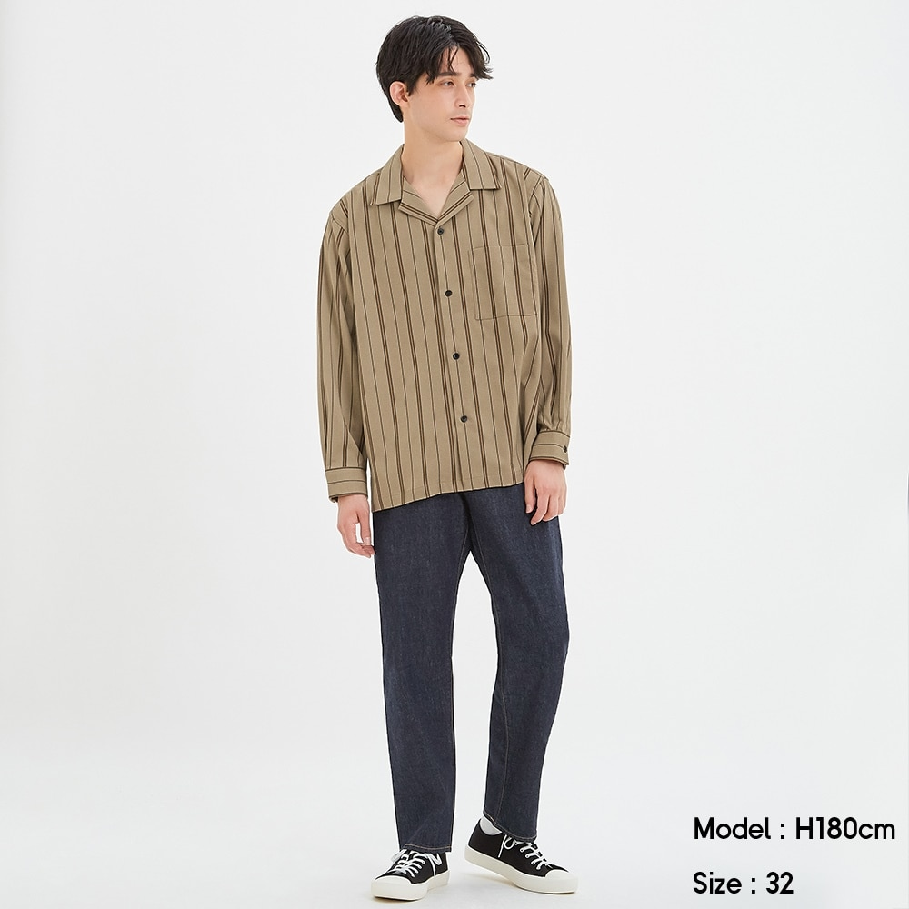 (GU)レギュラージーンズ(股下76cm)