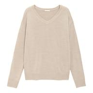 ソフトリッチVネックセーター(長袖)