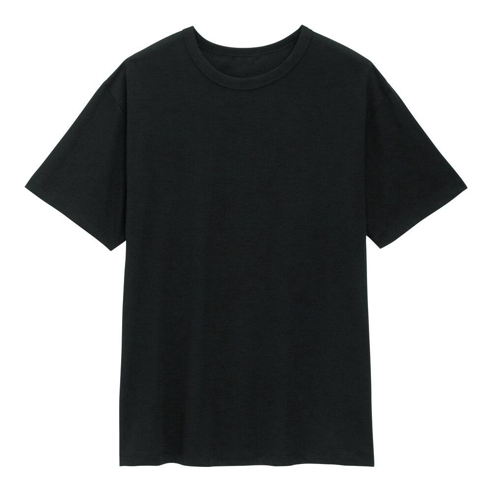 (GU)ドライコットンクルーネックT(半袖)