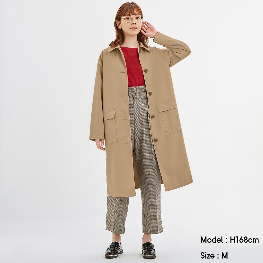 トレンチ コート とろみ gu