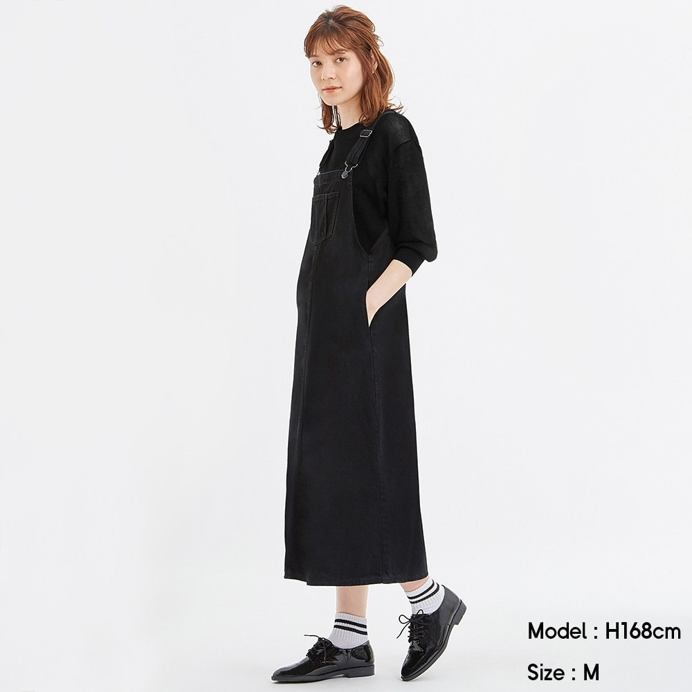 デニムジャンパースカートSD+X
