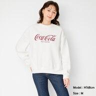 オーバーサイズスウェットプルオーバー(長袖)Coca-Cola +X