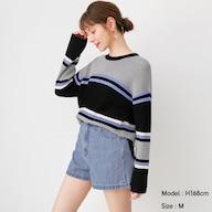 マルチボーダーセーター(長袖)SD+E