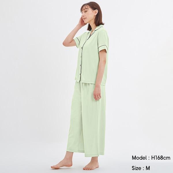カットソーパジャマ(半袖)-LIGHT GREEN
