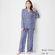 レーヨンツイルパジャマ(長袖)(ゴースト)+X