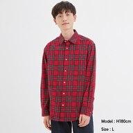 フランネルシャツ(長袖)(タータンチェック)