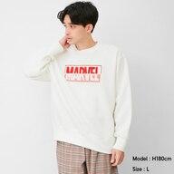 ビッグスウェットシャツ(長袖)MARVEL 1+E