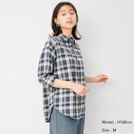 フランネルチェックシャツ(長袖)G+X