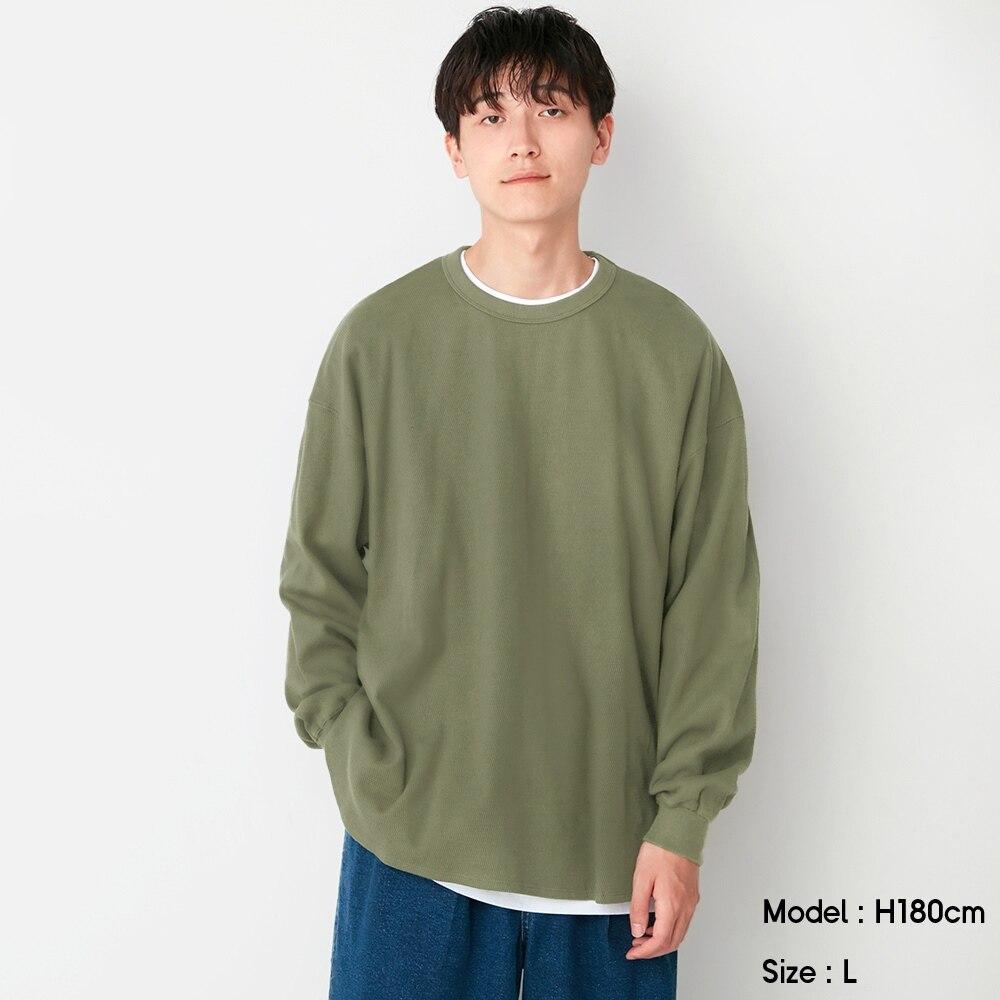 (GU)ヘビーウェイトサーマルT(長袖)NT+E