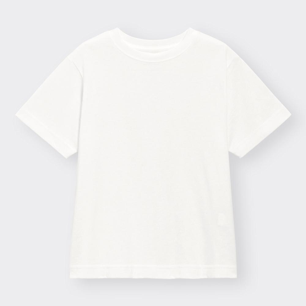 (GU)KIDS(男女兼用)コットンカラーT(半袖)