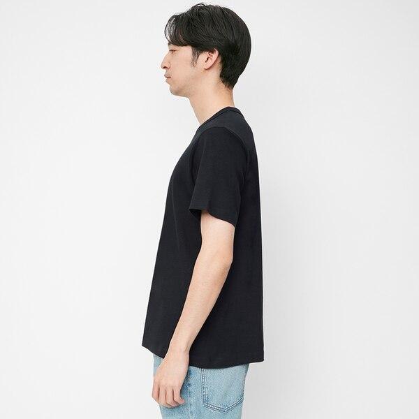 コットンクルーネックT(半袖)