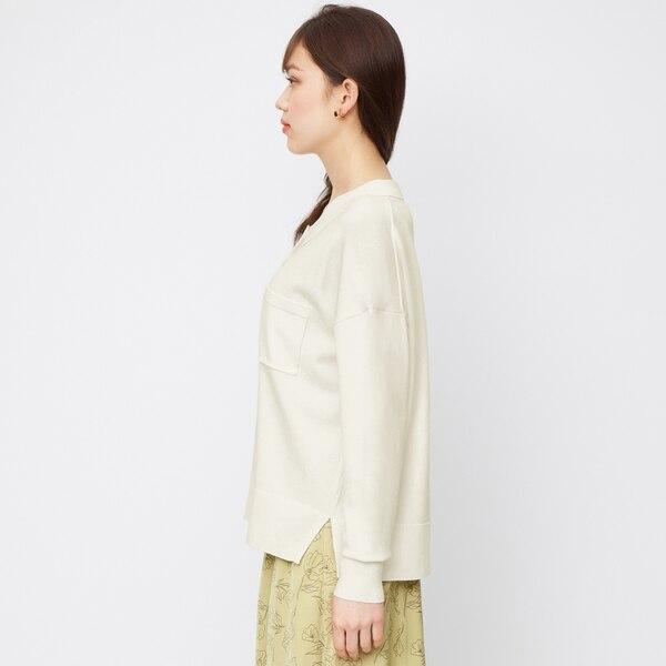 ニットポロシャツ(長袖)SD+E