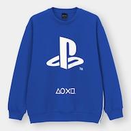 ダブルフェイスビッグプルオーバー(長袖)「PlayStation」-1