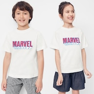 KIDS(男女兼用)グラフィックT(半袖)MARVEL 1+X