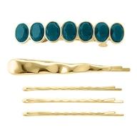 ビジュー&メタルヘアピンセット
