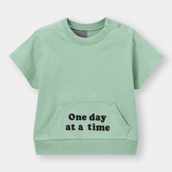 BABY(TODDLER)BOYSグラフィックT(半袖)(ロゴ)+E-GREEN
