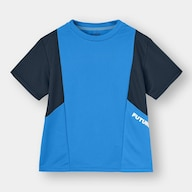 BOYSデザインT(半袖)(サイドロゴ)GA+E