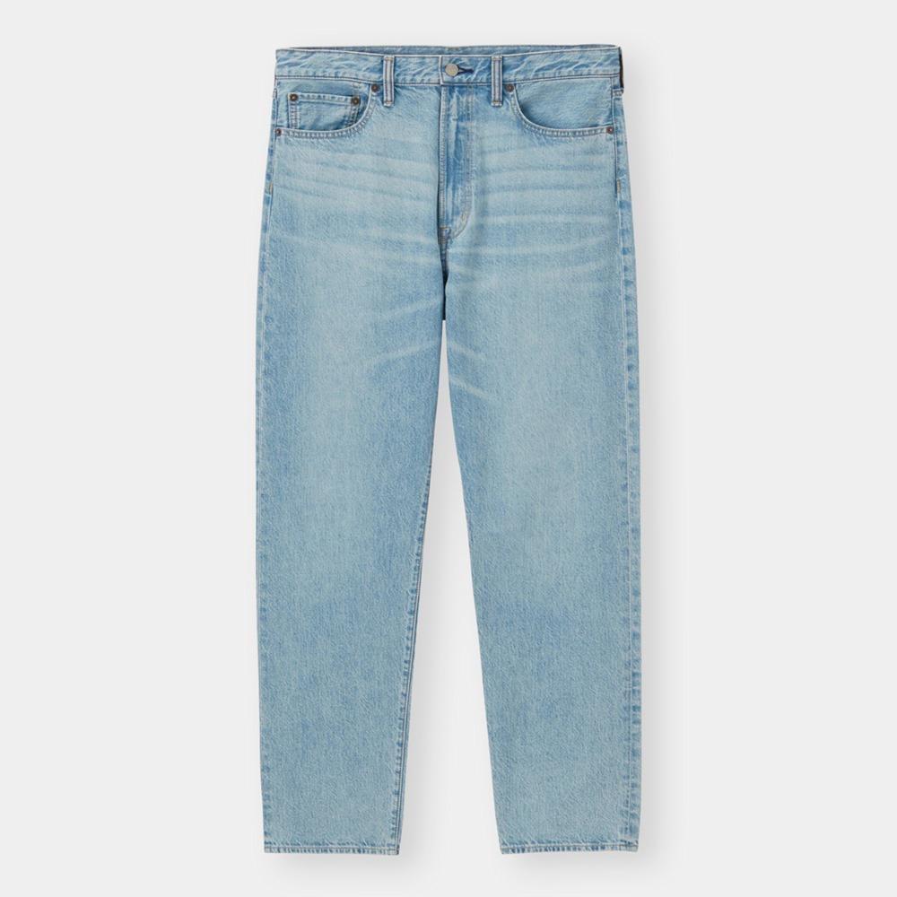(GU)レギュラージーンズ(股下76cm)+E