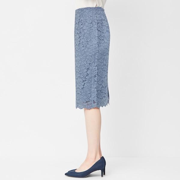 レースタイトスカート+E