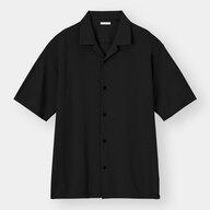 カットソーオープンカラーシャツ(5分袖)CL+E