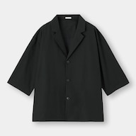 シャツジャケット(5分袖)NT+E(セットアップ可能)