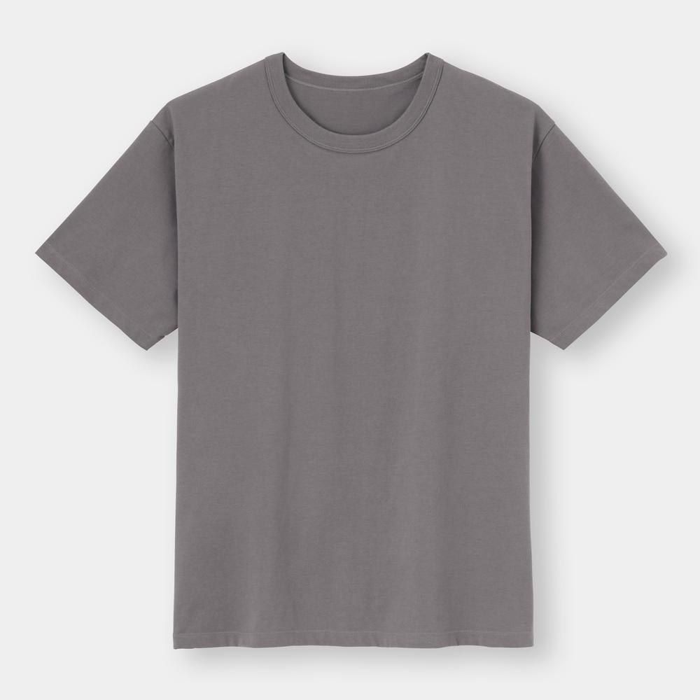 (GU)スタイルドライドライコットンクルーネックT(半袖)