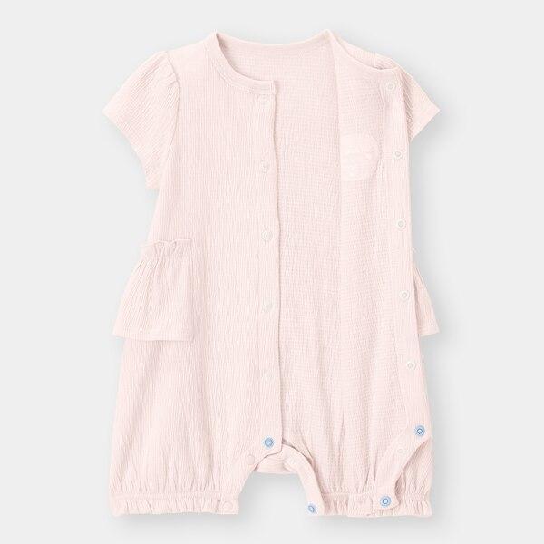 BABY(NEWBORN)カバーオール(半袖)(フリル)+E
