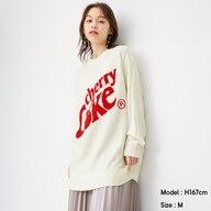 ジャカードセーター(長袖)Coca-Cola +EC