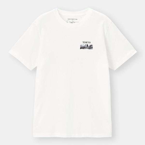 グラフィックT(半袖)TOKYO ST 3-WHITE