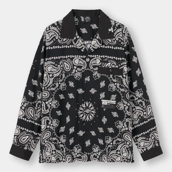 ボウリングシャツ(長袖)MY +X-81