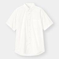 イージーケアピンオックスフォードシャツ(半袖)CL+X