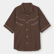 ウェスタンシャツ(5分袖)NT+E