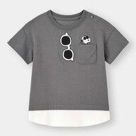 BABY(TODDLER)BOYSレイヤードT(半袖)Peanuts +E