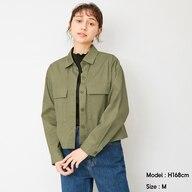ダブルポケットシャツ(長袖)OSQ+EC