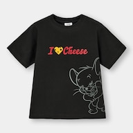KIDS(男女兼用)グラフィックT(半袖)Tom and Jerry 3+X