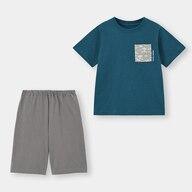 BOYSラウンジセット(半袖)(ポケット柄)