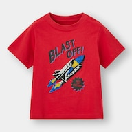 BOYSスパンコールT(半袖)(スペースシャトル)