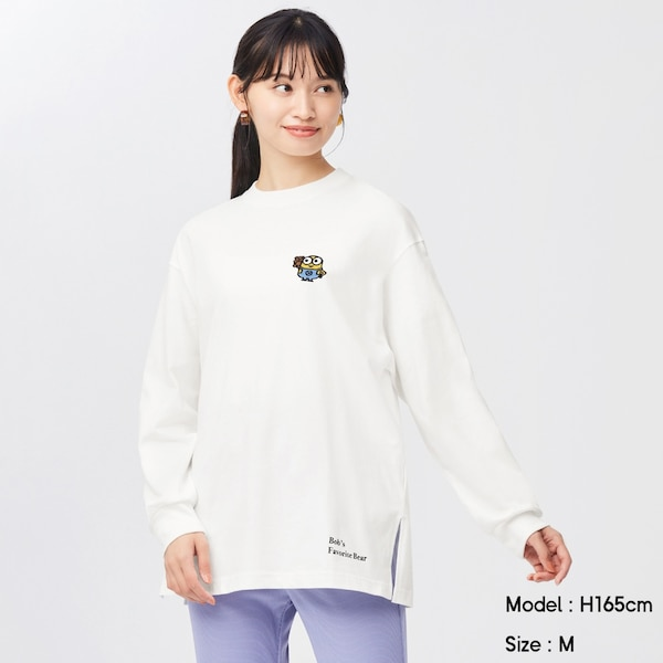 ロングスリーブT(長袖)We Want Minions Collection 1+X-OFF WHITE