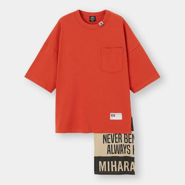 フハクコンビネーションT(5分袖)MY +E-ORANGE