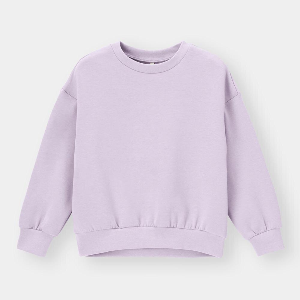 (GU)KIDS(男女兼用)ダブルフェイスプルオーバー(長袖)